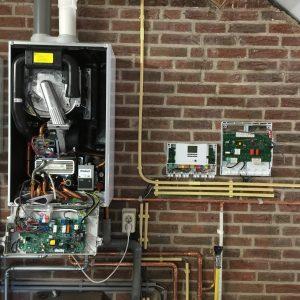 hybride systeem-duurzame installatie