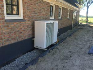 lucht warmtepomp, duurzame installatie